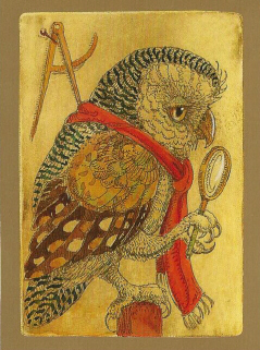 ORS - Owl with Red Scarf